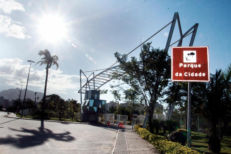 Parque da Cidade ganha iluminação cênica