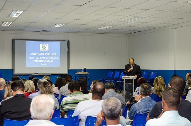 Audiência pública da LOA realizada no ano passado