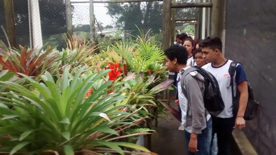 Espaço Botânico foi visitado por mais de 1.600 pessoas em fevereiro