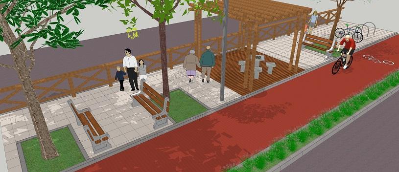 Mais de 10 mil moradores beneficiados com novas ciclofaixa, ciclovia e calçadão em Cidade Continental