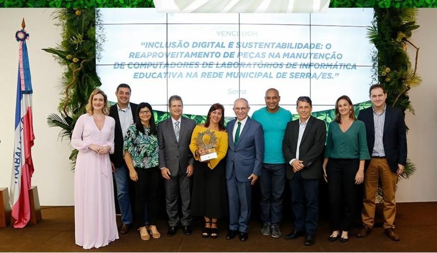 Serra lidera entre municípios sustentáveis