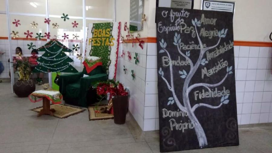 Pacientes da Serra ganham surpresas no Natal