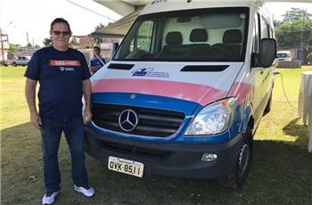Van do empreendedor estaciona em Planalto Serrano
