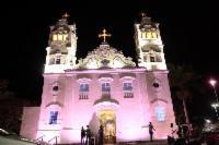 Outubro Rosa: Serra iluminada alerta sobre prevenção ao câncer de mama