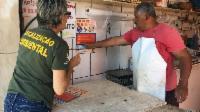Prefeitura faz ações de conscientização sobre defeso nos balneários