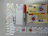 Unidade de saúde faz adesivos para ajudar idosos a tomar remédios na hora certa