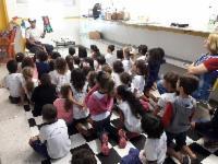 Alunos de CMEI em Colina de Laranjeiras participam de atividade de educação para o trânsito