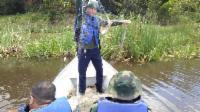Fiscalização apreende 8 mil metros de rede de pesca na Lagoa Juara