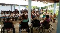 Crianças arrecadam produtos para doar à asilo da Serra