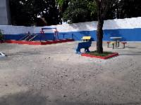 Prefeitura entrega praça, campo e vestiário reformados em Campinho da Serra II