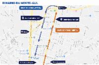 Obras para mão única na Avenida Norte Sul começam neste semestre
