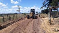Prefeitura faz manutenção em estradas rurais da Serra
