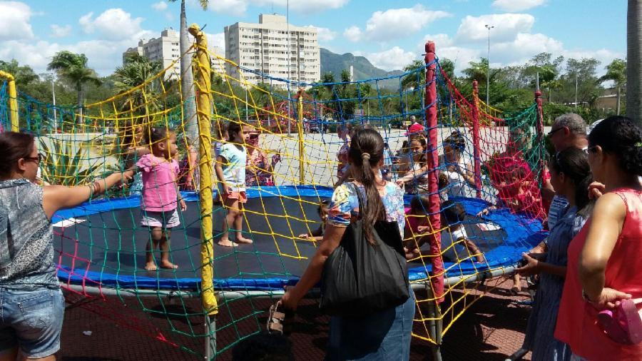 Parque da Cidade recebe evento com corte de cabelo e recreação infantil de graça