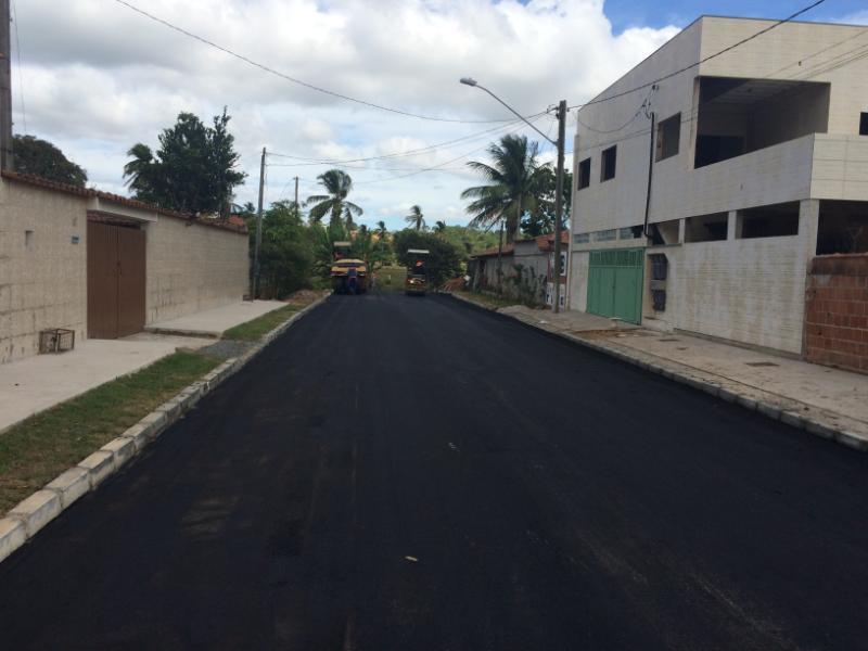 Ruas de Boa Vista I contempladas com drenagem e pavimentação