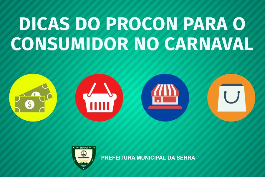 Para compras de fantasias e ingressos para o Carnaval siga as dicas do Procon da Serra