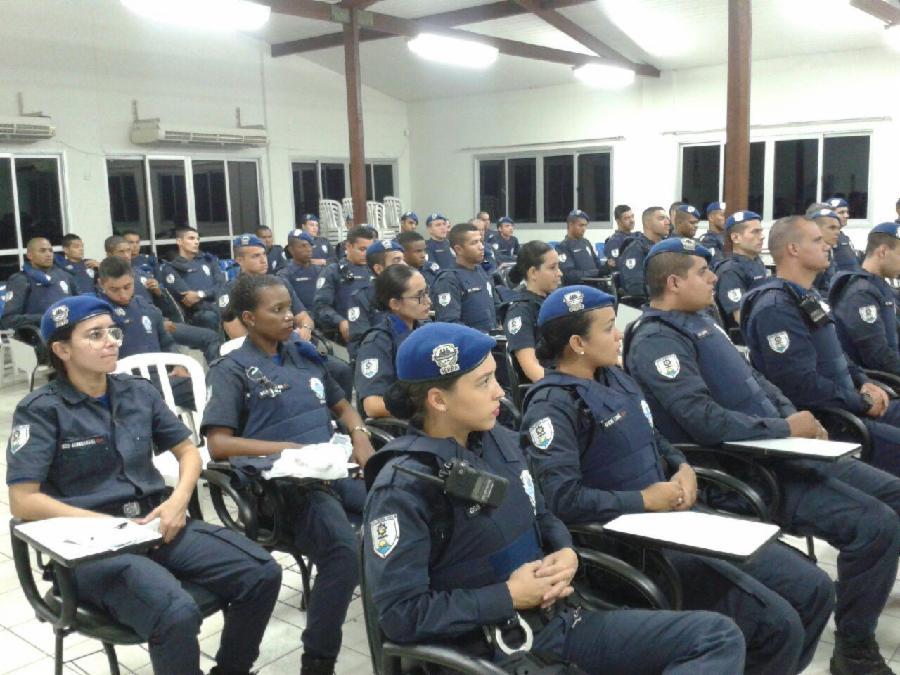 Guarda Municipal se capacita em técnicas de luta e prevenção a desastres