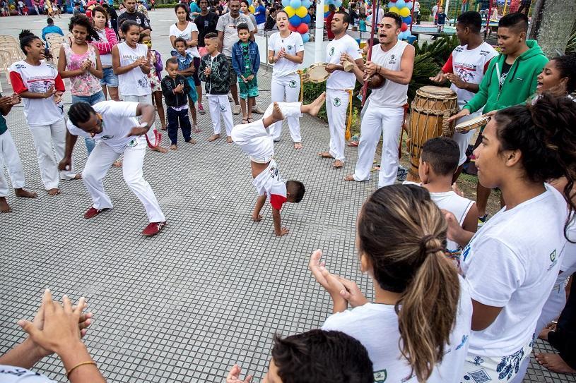 Encontro de capoeira em Planalto Serrano nesta quinta (10)