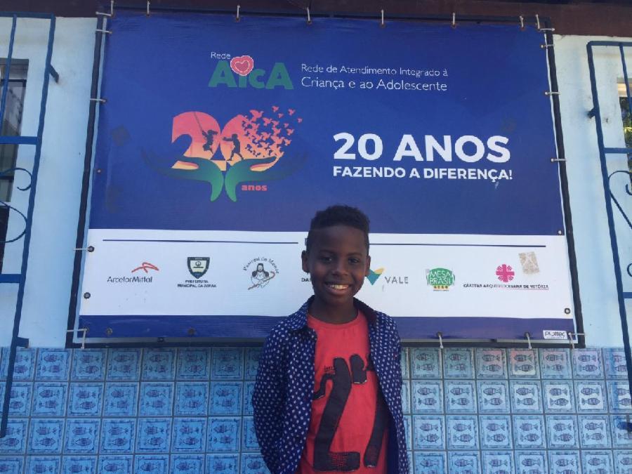 Serraninho Jeremias Reis na final do The Voice Kids