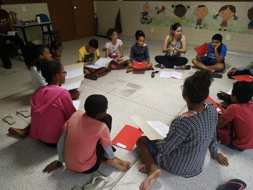 Grupo de teatro do PAC prepara apresentação