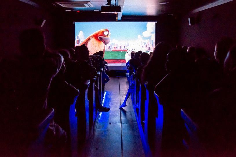 Mais de 6 mil pessoas assistem a filmes de graça na Serra