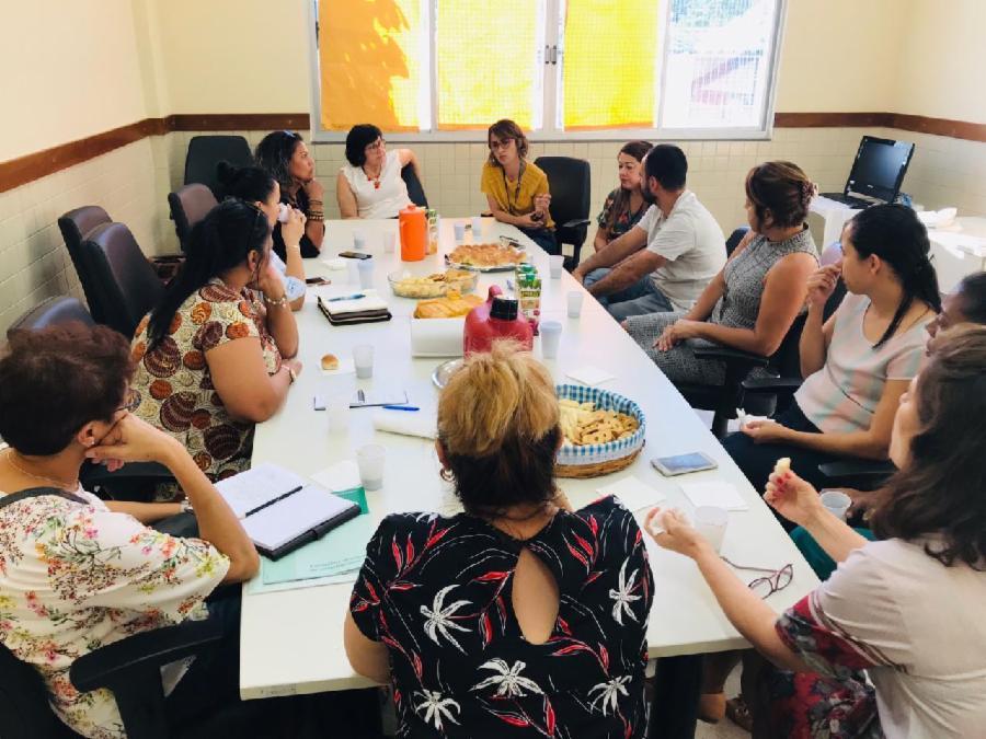 Pesquisadoras sul-africanas conhecem as boas práticas da Assistência Social da Serra