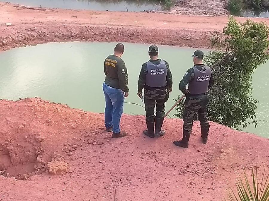 Semma flagra desmatamento e aterro ilegais em Serra Dourada I