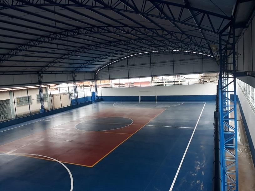 Novo espaço de lazer e esporte em Cidade Pomar