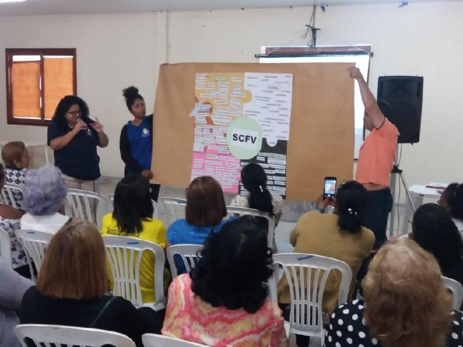 Lideranças participam de capacitação sobre oficinas no Centro de Convivência de Idosos
