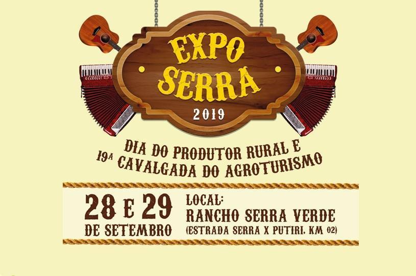 Expo Serra 2019 agita a zona rural neste fim de semana