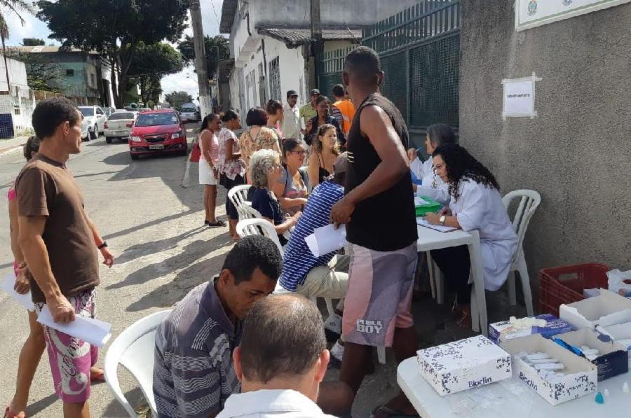 Evento acolhe 65 pessoas em situação de rua em Jardim Limoeiro