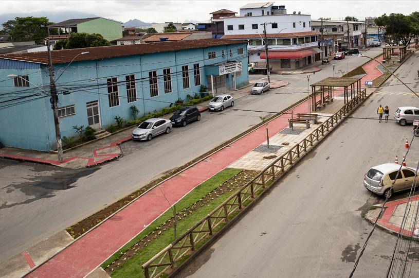 Serra inaugura canteiro central e ciclovia em Cidade Continental nesta segunda (07)