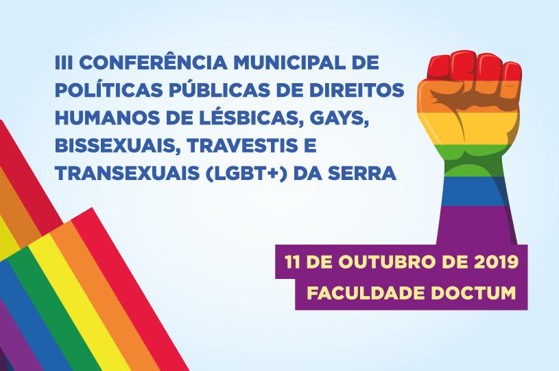 Garantia dos direitos será tema da 3ª Conferência LGBT da Serra