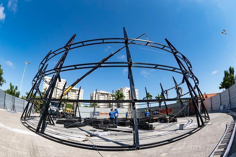 Parque da Cidade vai ter árvore de Natal de 45 metros
