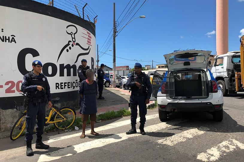 Guarda da Serra detém suspeito de furtar bicicleta compartilhada