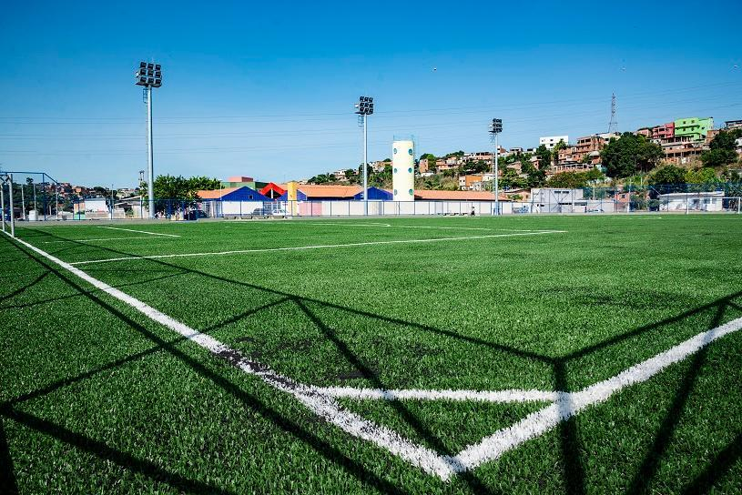 Mais lazer para 25 mil pessoas com dois novos campos de futebol