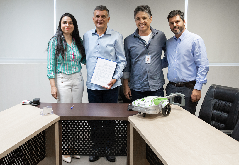 Empresa de robô cão-guia vai reforçar Polo Tecnológico da Serra
