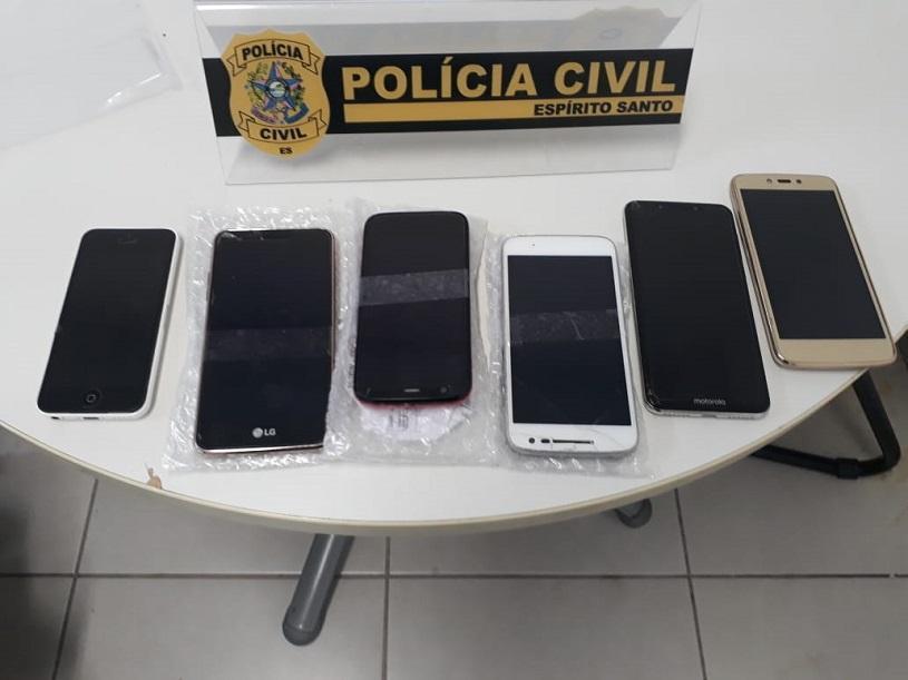Dono de loja é detido por vender celular roubado na Serra