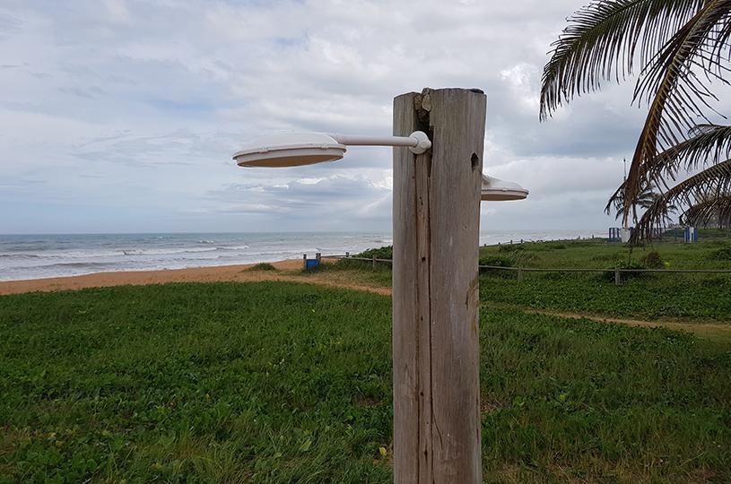 Verão: confira os pontos com chuveiros nas praias da Serra