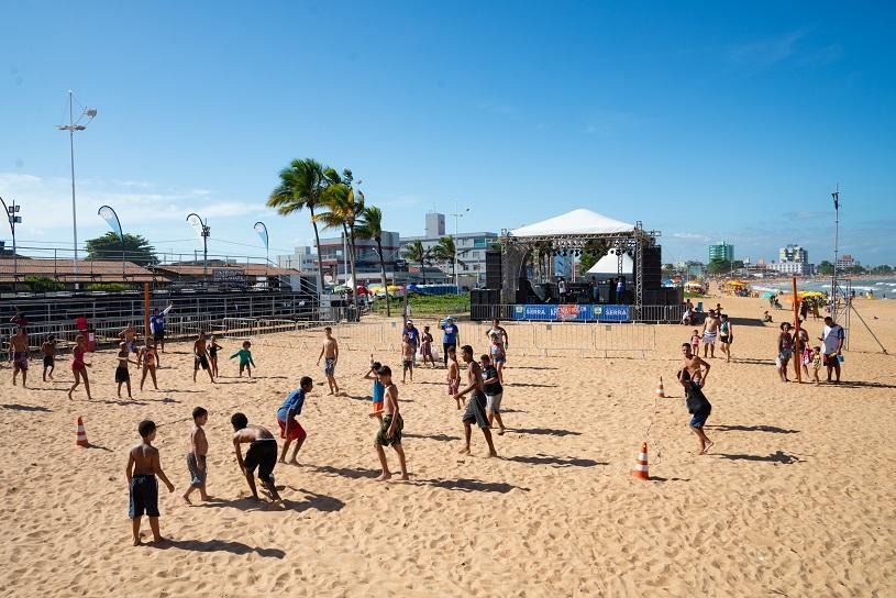 Shows e final de beach soccer na Arena Procon