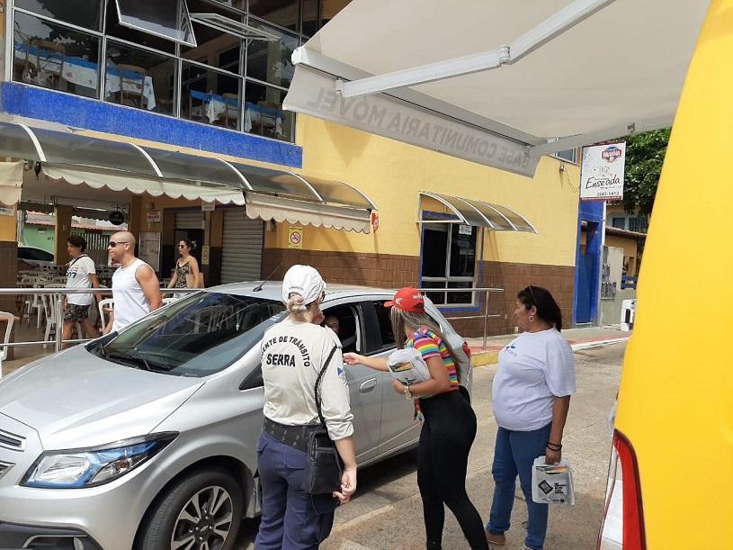 Núcleo de Educação para o Trânsito conscientiza mais de 300 pessoas em Manguinhos