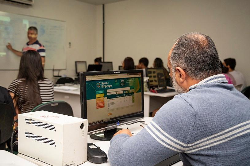 Aberta temporada de cursos gratuitos na Serra com 136 vagas