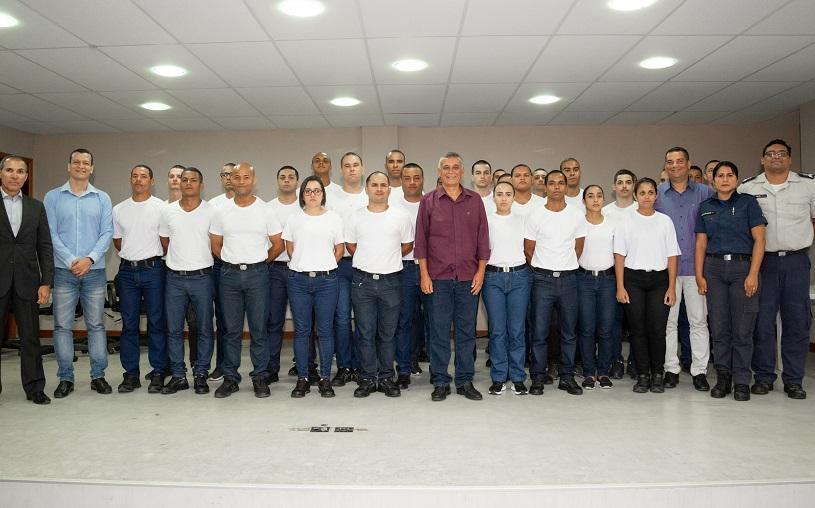 Prefeitura inicia formação de 68 novos agentes da Guarda Municipal