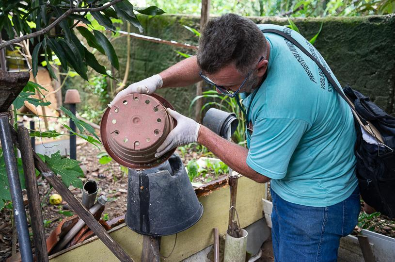 Semana decisiva no combate à dengue na Serra