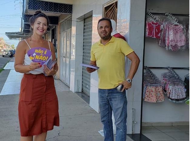 Seppom vai às ruas alertar sobre o ciclo da violência contra mulheres