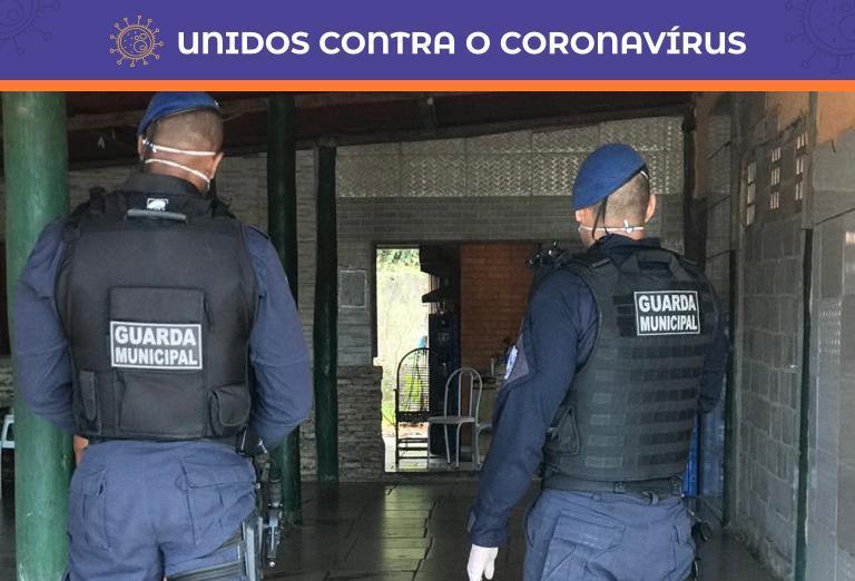 Guarda Municipal fecha bares na Serra