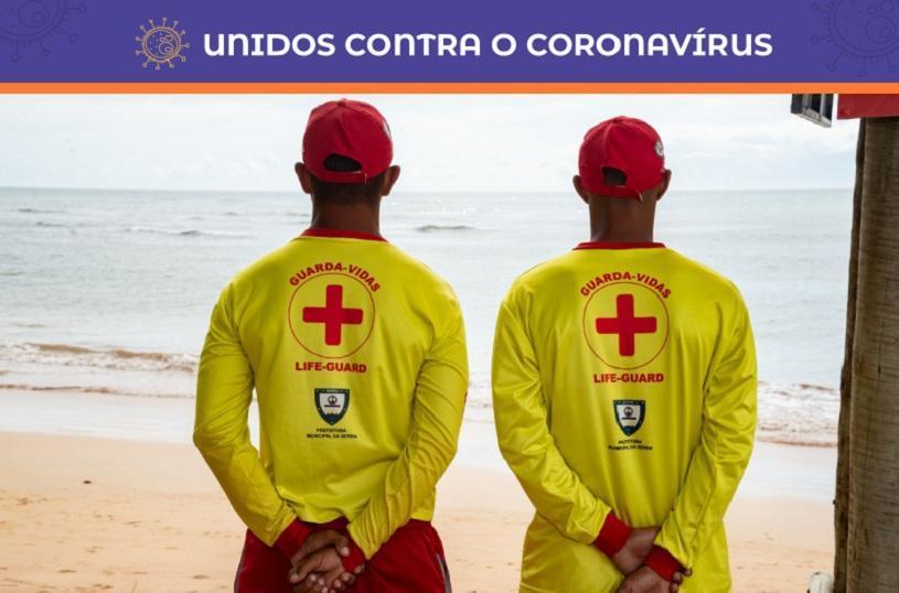 Guarda-vidas orientam banhistas a sair das praias