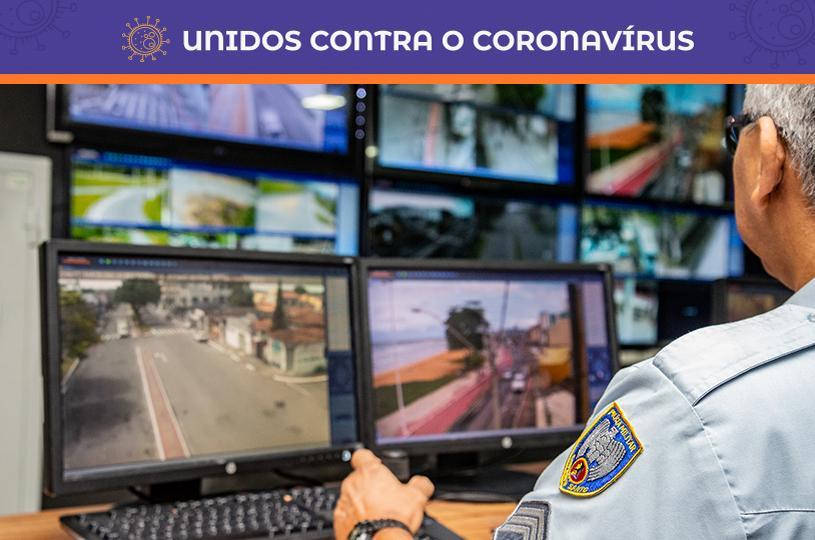 Videomonitoramento ajuda a flagrar estabelecimentos que permanecem abertos