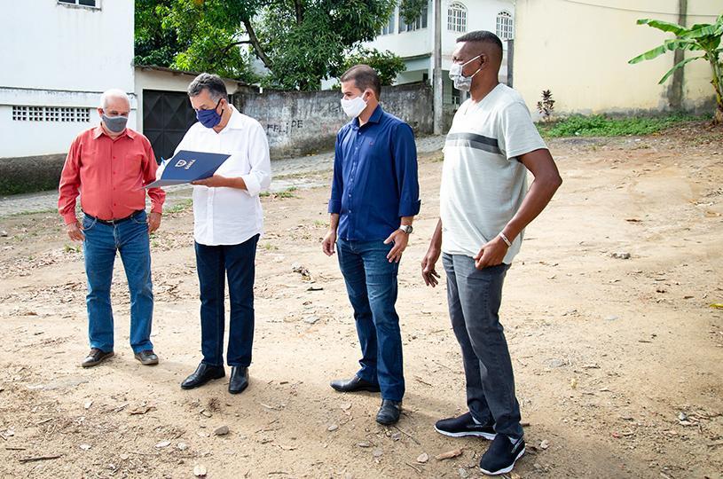 Assinada Ordem de Serviço para recapeamento de ruas em Barro Branco