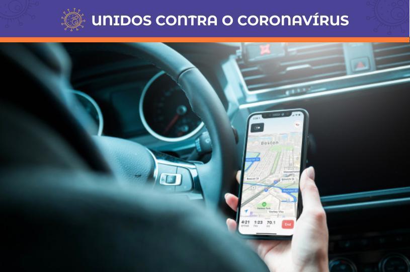 Prefeitura recomenda que empresas ajudem motorista de aplicativo afastado com Covid