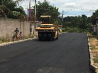 Ruas de Eldorado recebem obras de drenagem, pavimentação e recapeamento